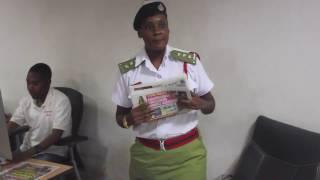 Maafisa Zimamoto Watembelea Global Publishers