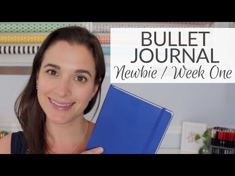 Bullet Journal Newbie | Week One