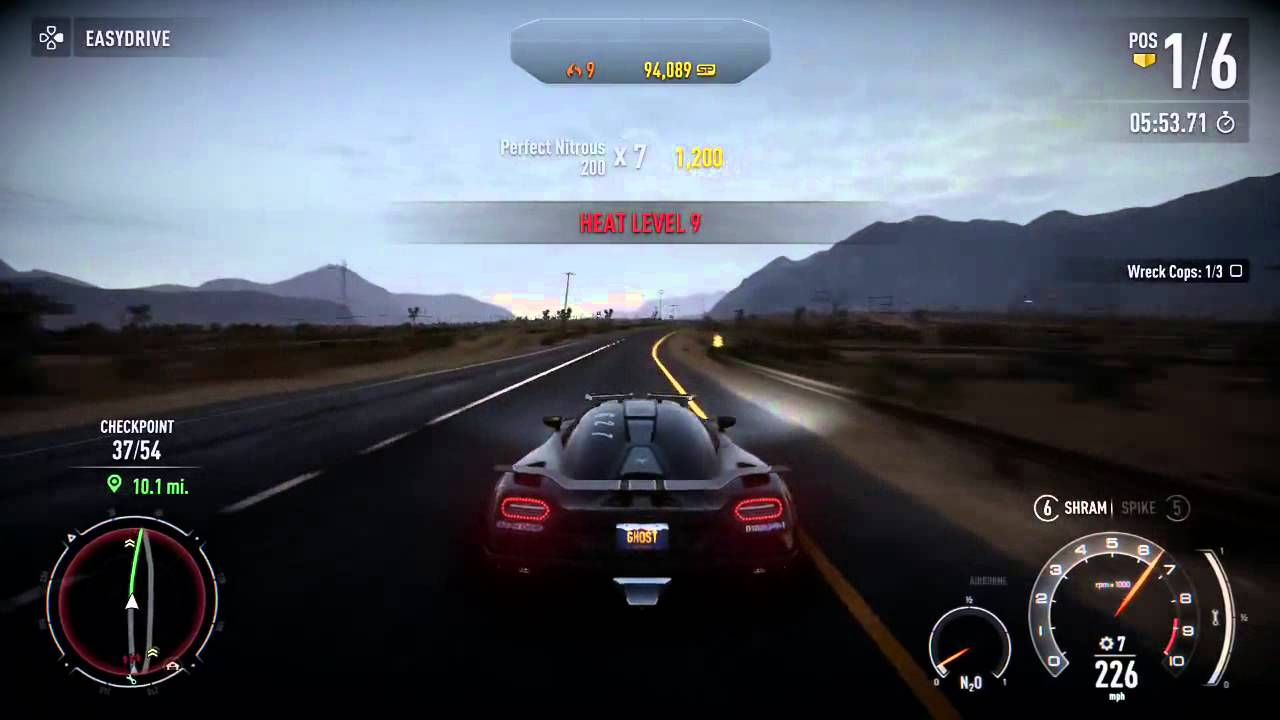 Need For Speed Rivals Ps4 Gameplay Fastest Race Car  YouTube