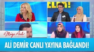Ali Demir canlı yayına bağlandı! -  Müge Anlı İle Tatlı Sert 18 Nisan 2018