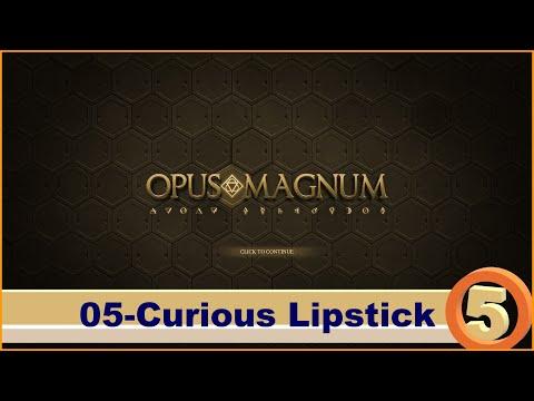 Opus Magnum Gameplay | Chapter 5-05 | Curious Lipstick |