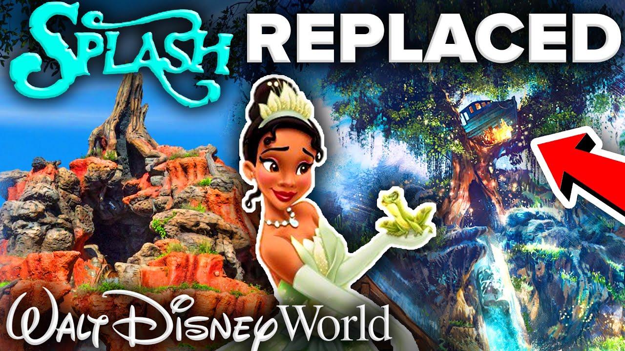 Splash Mountain BEING REPLACED at Walt Disney World and Disneyland