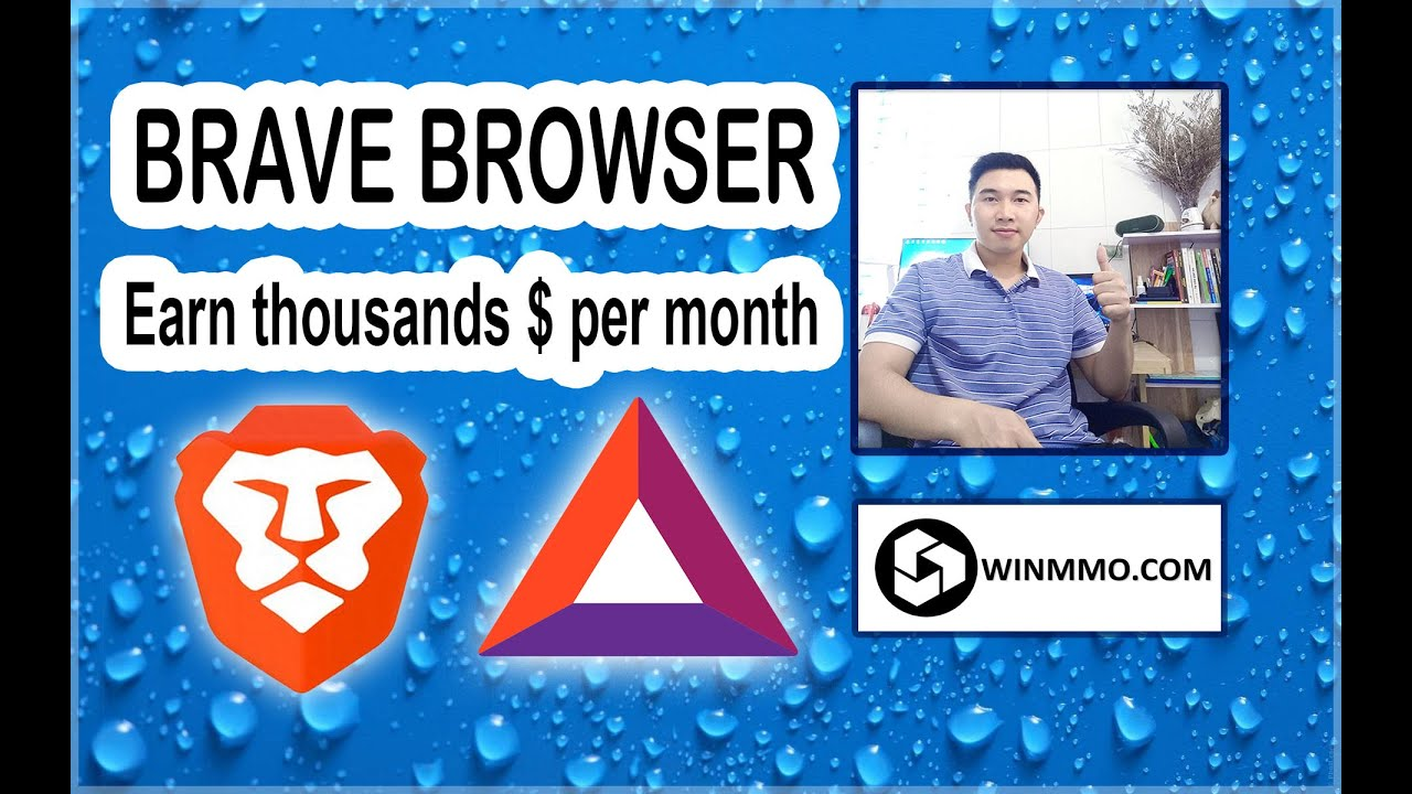Earn Money With Brave Browser $10K Per Month. Free 10