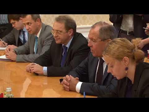 Встреча С.В.Лаврова и Г.Саляме