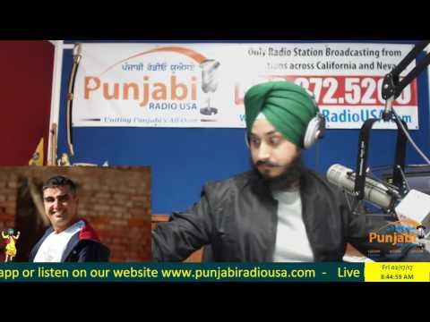17 February 2017 | Morning | Mintu Gurusaria | Khabar Te Nazar | News Show | Punjabi Radio USA