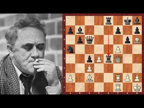 Efim Geller's Amazing Immortal Triple Queen Sacrifice Chess Game vs Vasily Smyslov!