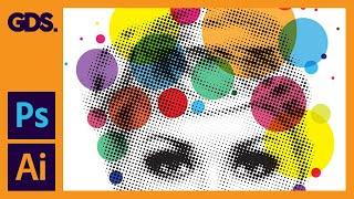 Using the Halftone Effect in Adobe Illustrator