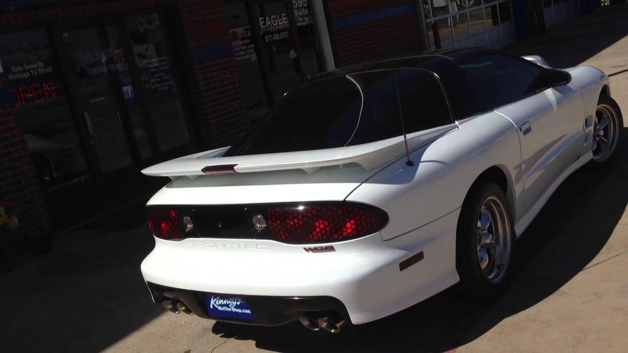 2000 Pontiac Ws6 Trans Am Street Demon Custom Exhaust By Kinney S Youtube