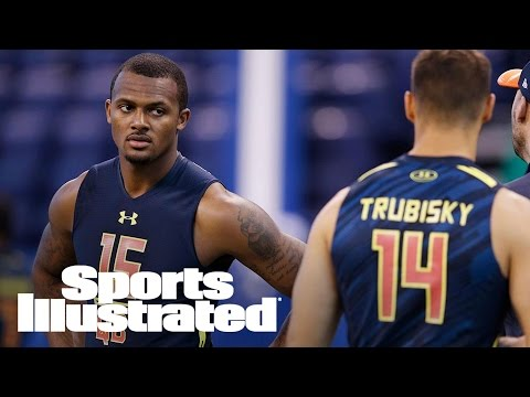 Deshaun Watson: Does It Bothers Him That He's Behind Mitch Trubisky? | SI NOW | Sports Illustrated