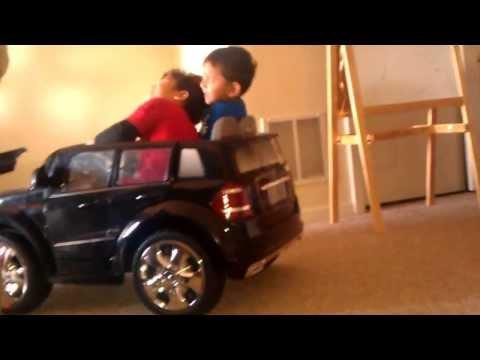 Avi & Nir Car ride in the basement