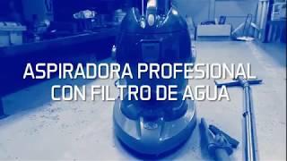 ASPIRADORA PROFESIONAL con filtro de agua