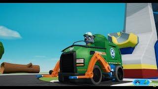 Щенячий патруль PawPatrol Рокки и Эверест спасают Джейка с подьемника