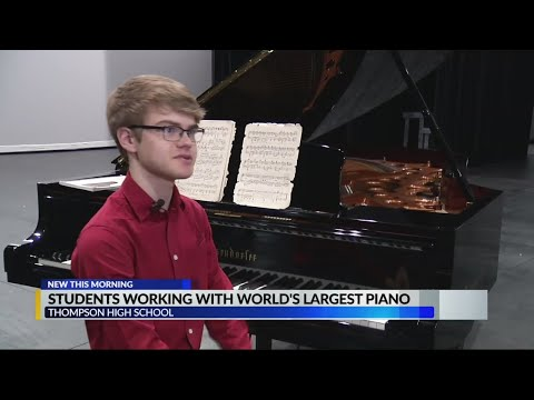 None - Hilary's Weird News - World's largest piano is in Alabaster