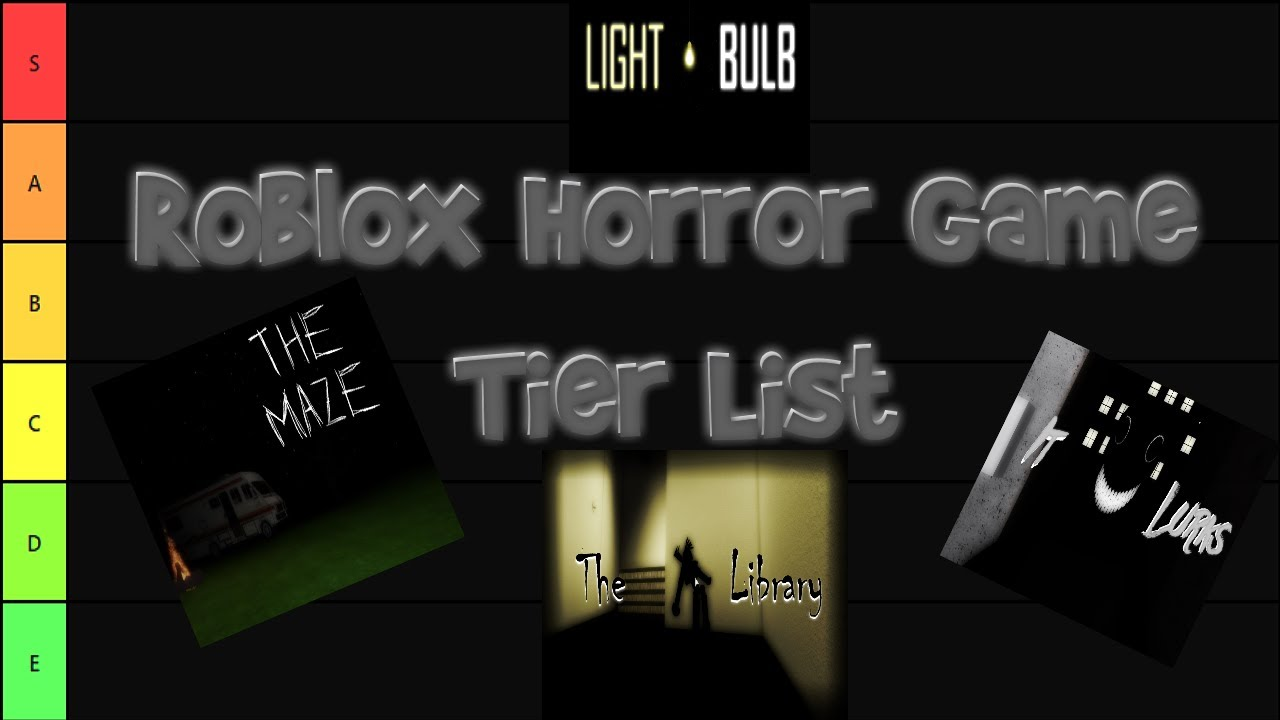 Roblox Horror Game Tier List 28 Horror Games Youtube