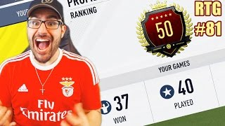 TOP 50 IN THE WORLD ON A RTG! & CUSTOM TACTICS! Road To Fut Champions FIFA 17 #81