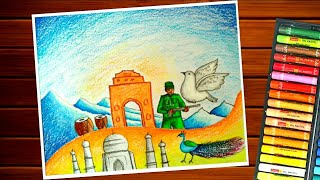 Heritage Of India Drawing