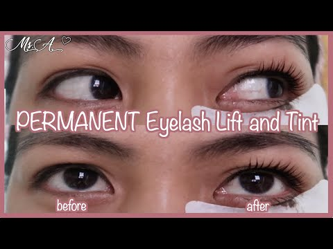 Permanent Eyelash Lift & Tint Tutorial | Angelie Gonzalo thumbnail