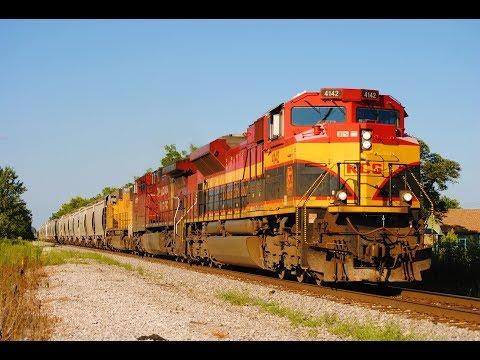HD: August 2017 Trains w/EDMX, CEFX, CP, CN, KCS, KCSM, NS, UP, CSXT, & BNSF