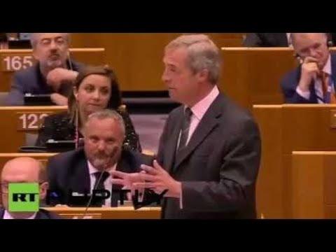 BREAKING!!!NIGEL FARAGE ORDERS THE EU PARLIAMENT TO ARREST GEORGE SOROS