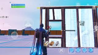Fortnite mobile building/firing glitch/bug season 8 [READ DESCRIPTION] (please fix epic)