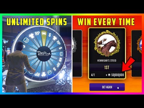 GTA Online The Diamond Casino & Resort DLC Update - WIN EVERY TIME! Blackjack, Horse Racing & MORE!
