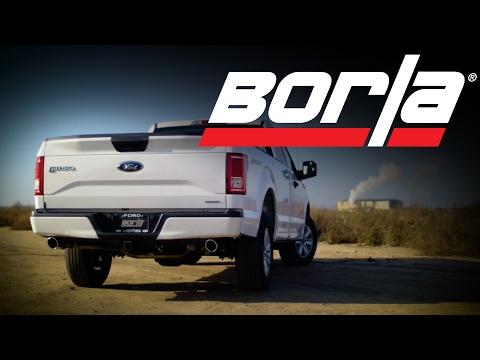 Borla Exhaust for 2011-2019 Ford F-150 5.0L Trucks