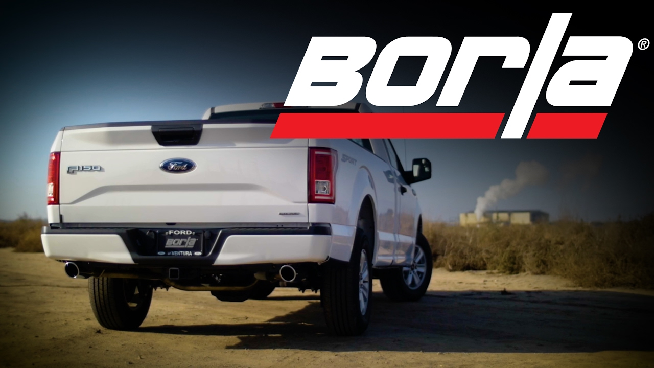 borla exhaust for 2011 2020 ford f 150 5 0l trucks exhaust system sounds