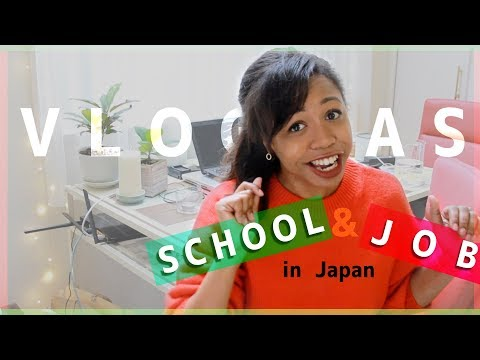 VLOGMAS DAY 01?! Juggling School and Jobs in Japan [Student Vlog 08]