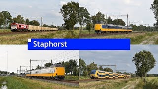 Treinen in Staphorst