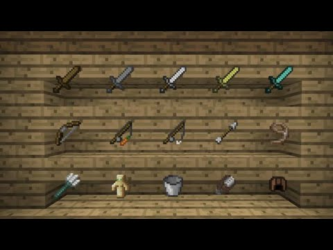 minecraft pocket edition invisible item frames addon - YouTube