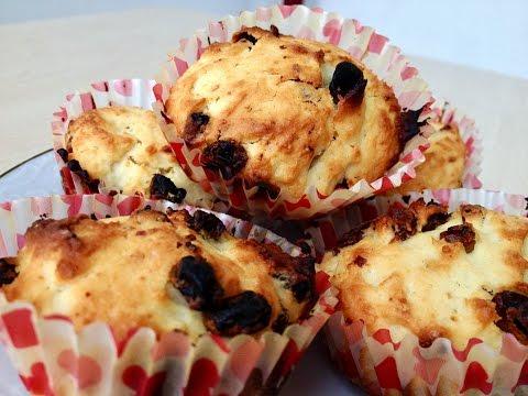 Творожные Кексы, Очень Вкусный Рецепт (Cottage Cheese Cupcakes)