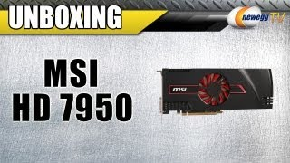 Newegg TV_ MSI R7950-2PMD3GD5/OC Radeon HD 7950 Video Card Unboxing