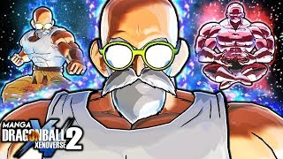 MANGA ULTRA INSTINCT ROSHI VS JIREN GAMEPLAY - Dragon Ball Xenoverse 2 Roshi Fights Jiren Gameplay
