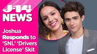 Joshua Bassett on 'Drivers License' Drama: Reacts to 'SNL' Skit