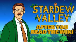 Stardew Valley After You Read the Wiki   Animation