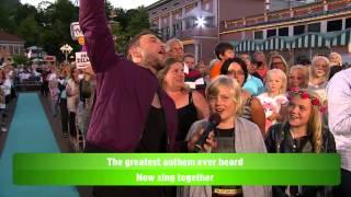 Allsång: Måns Zelmerlöw - Heroes - Lotta på Liseberg (TV4)