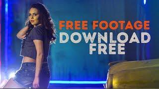 4k dancing girl free stock footage