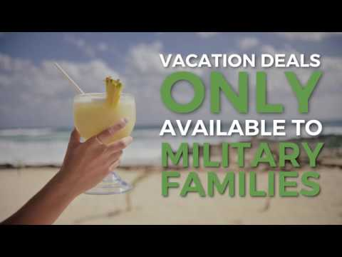 Military Vacation Deals >> Military Minute Vacation Deals Only Available To Military Families