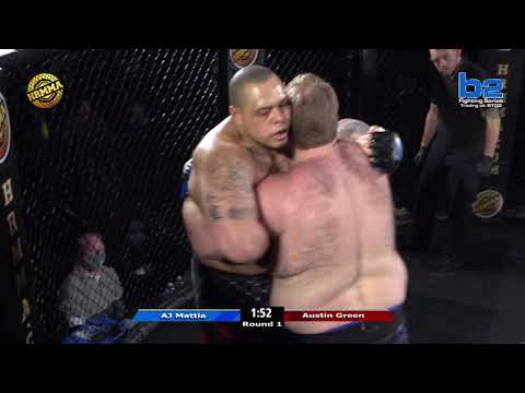 HRMMA 117 Fight 7 Austin Green vs AJ Mattia Super Heavyweight Ammy