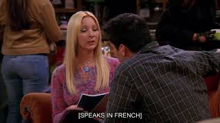 Joey speaks French | Funny Friends clip | Comedy Central