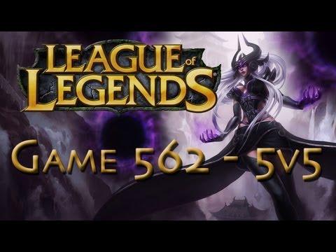 LoL Game 562 - 5v5 - Hilarious Syndra Pwnage - 1/2