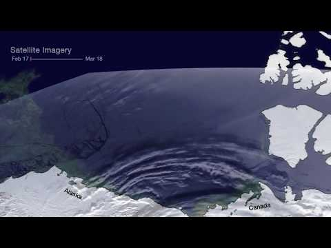 Arctic Ice Breaks Up in Beaufort Sea (Satellite Imagery)