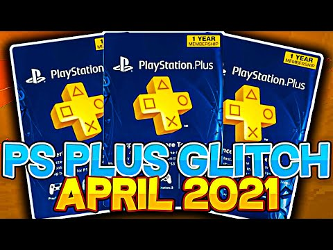 HOW TO GET FREE PS PLUS *APRIL 2021* FREE PLAYSTATION PLUS GLITCH WORKING NOW! EASY GLITCH!