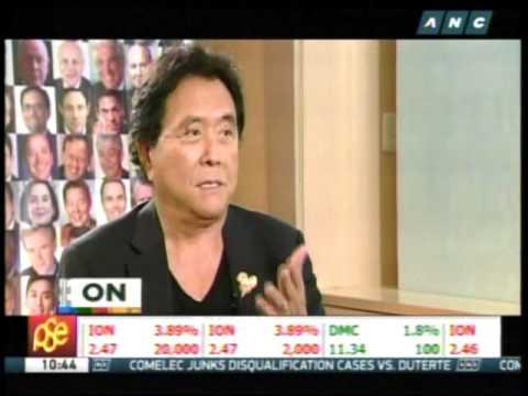 Kiyosaki: Saving money won't make you rich
