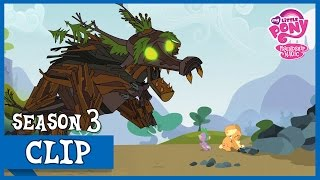 Repeat youtube video MLP: FiM - Spike Saves Applejack Of The Timberwolfs