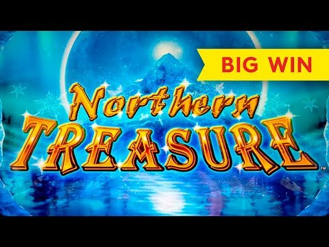 Northern Treasure Slot - BIG WIN BONUS! - 동영상