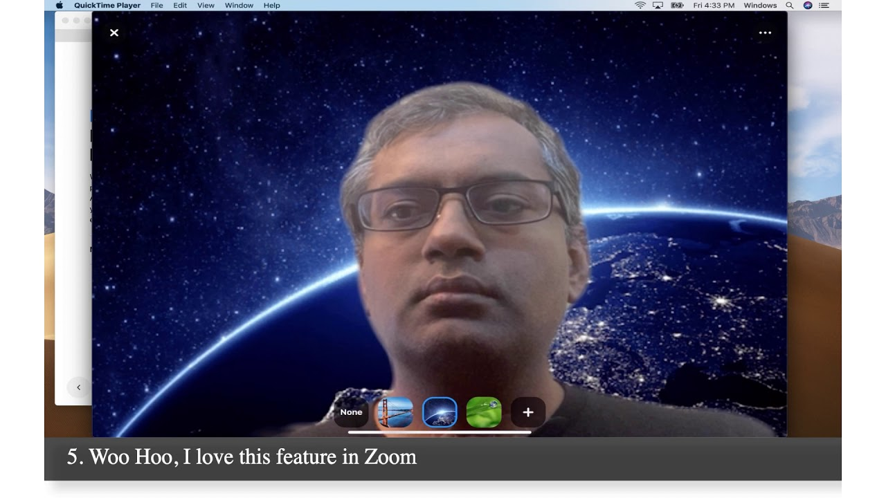 How To Enable Virtual Background In Zoom On Ipad Youtube