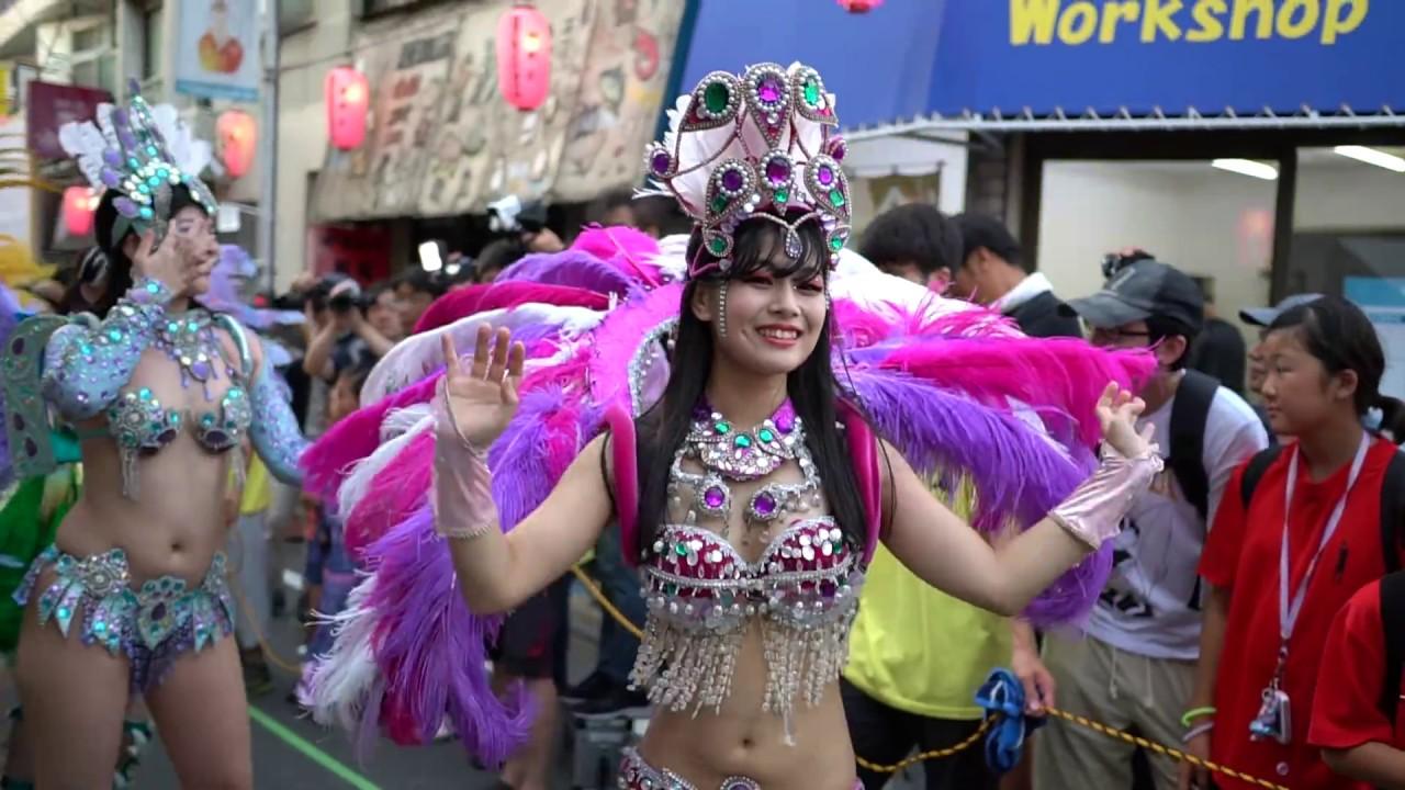 『第13回しもしゃく祭り サンバパレード2018 / 第1部』ウニアン・ドス・ピンチーニョス【Part 4】