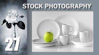 27. Stock Photography Тема: Элегантная и уравновешенная композиция. Пример первый