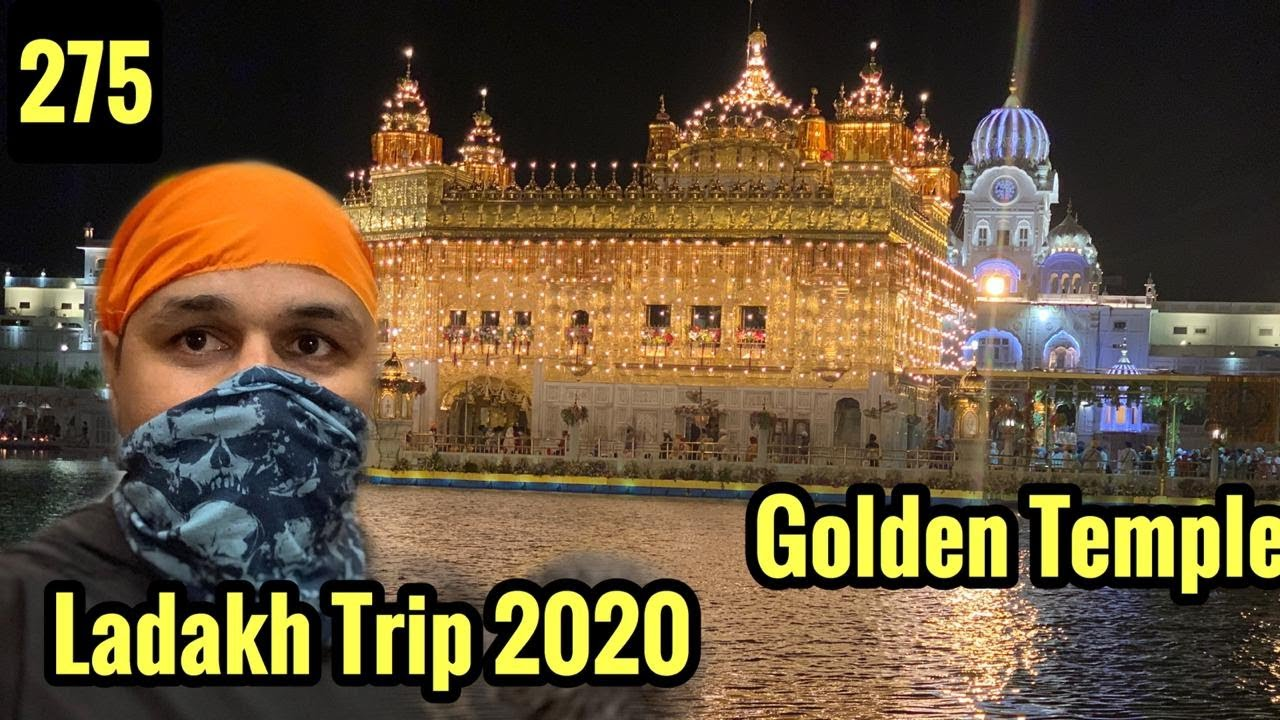 Visit To Golden Temple During Ladakh Trip 2020, Cycle Baba Ep.275
